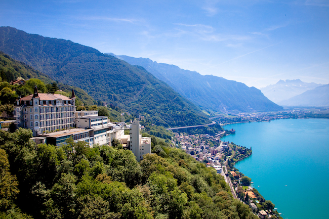 Glion Institute of Higher Education, Campus, Switzerland.