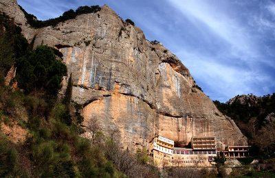 The Holy Monastery of Mega Spileo in Kalavryta, Peloponnese. Photo Source: @Mythical Peloponnese