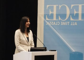 Greek Tourism Minister Elena Kountoura.