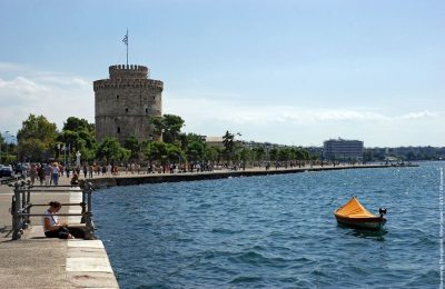 White Tower, Thessaloniki. Photo source: Visit Greece / KKouzouni