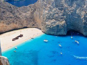Navagio beach, Zakynthos. Photo Source: FlightNetwork