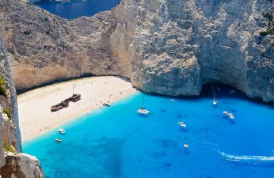 Navagio beach, Zakynthos. Photo Source: FlightNetwork