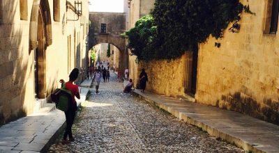 Rhodes' Medieval City. Photo © Maria Paravantes