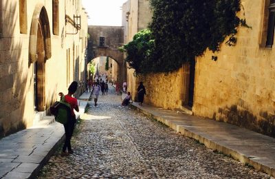 Rhodes' Medieval City. Photo © Maria Paravantes