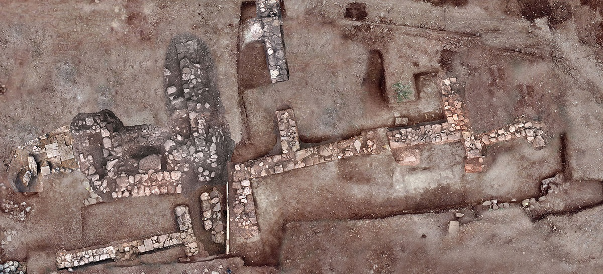The eastern site of the excavated site with residential remnants. Photo Source: Ministry of Culture