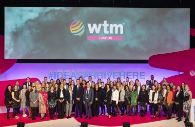 World Travel Market 2018, ExCeL London -The team. Photo Source: WTM London