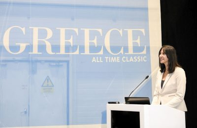 World Travel Market 2018, ExCeL London - Greek Press Conference.