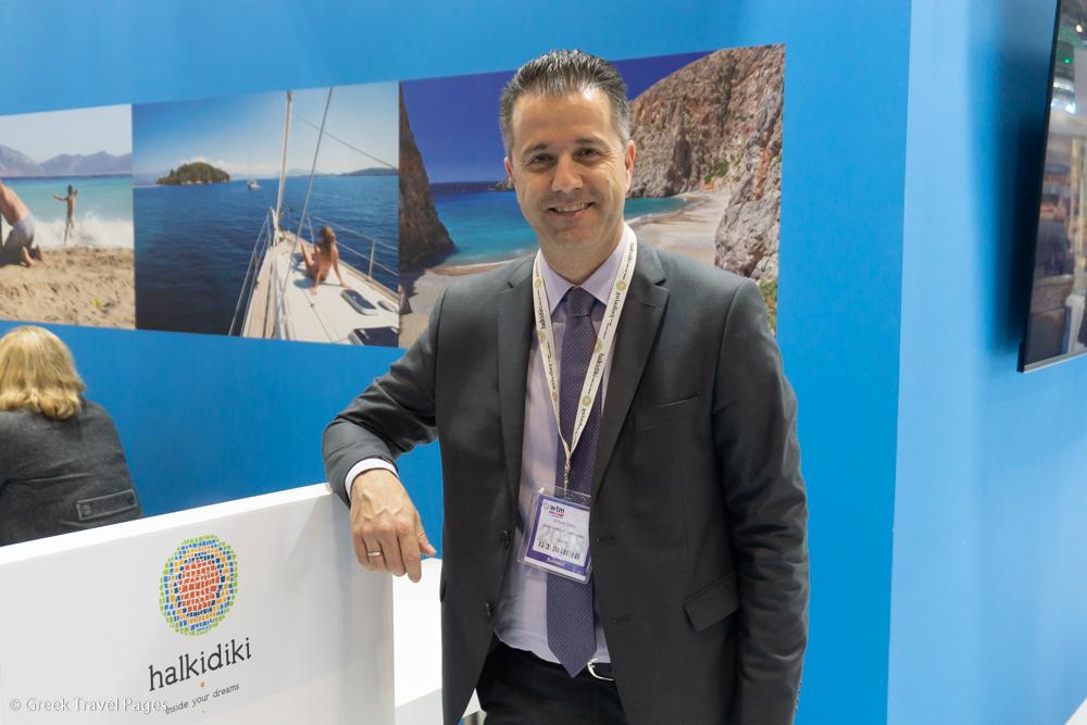 Halkidiki Tourism Organization President Grigoris Tasios.