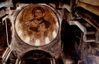 The Byzantine gem of Arta: The Church of Parigoritissa (the Comforting Mother). Photo by Maria Paravantes