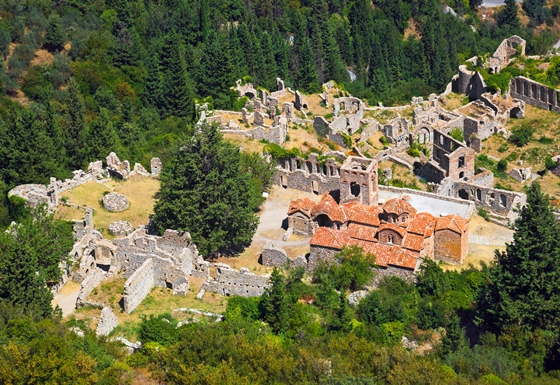 Archaeological site of Mystras. Photo source: Visit Greece