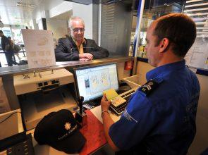 Geneva, 27.06.12. Implementation of the project EneXs with fingerprint recognition at the airport in geneva. © European Commission 2012 / Sébastien Féval