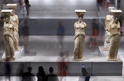 The Acropolis Museum. Photo © Giorgos Vitsaropoulos