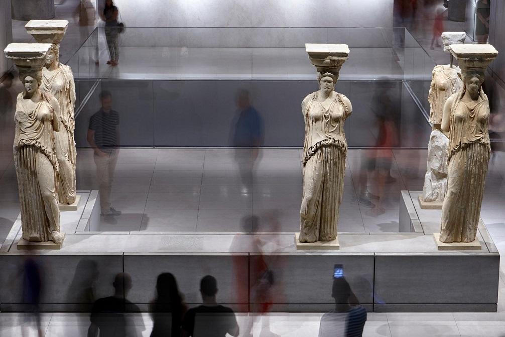 The Acropolis Museum. Photo © Giorgos Vitsaropoulos