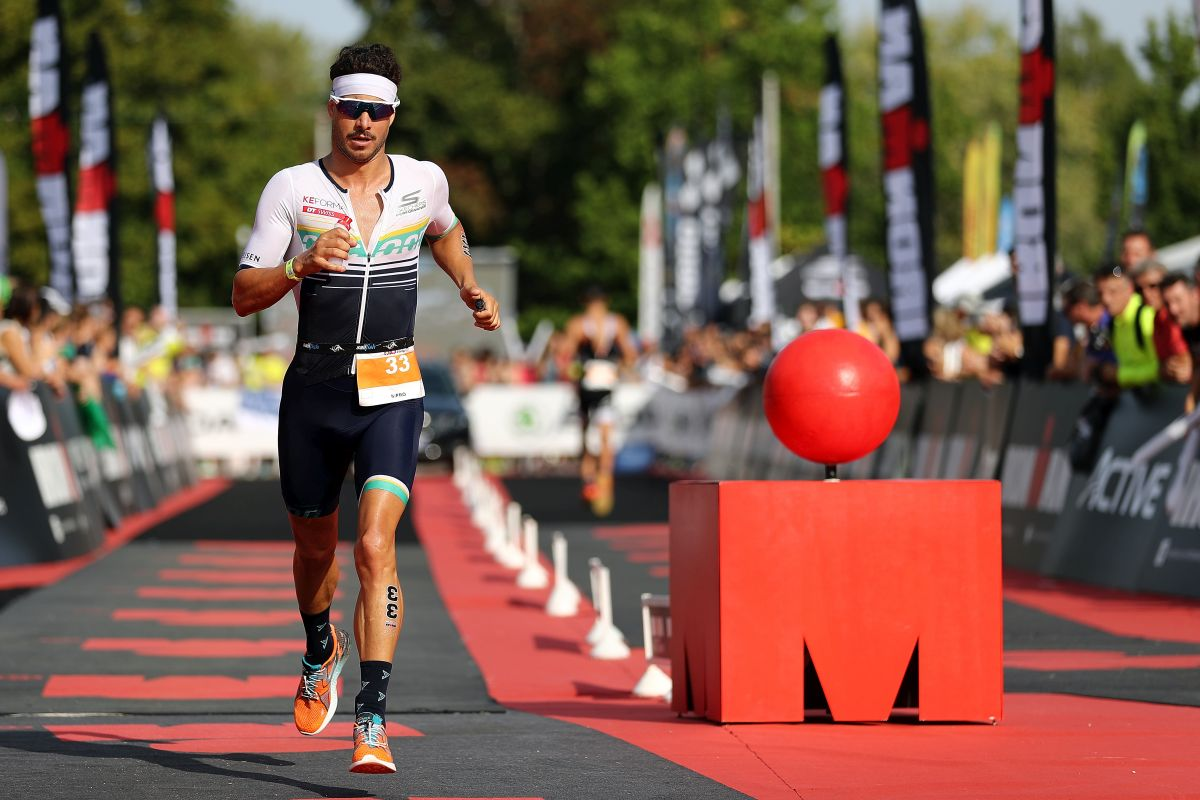 Athletes compete in IRONMAN 70.3 Vichy on August 26, 2017 in Vichy, France. (Photo by Bryn Lennon/Getty Imagesfor IRONMAN)