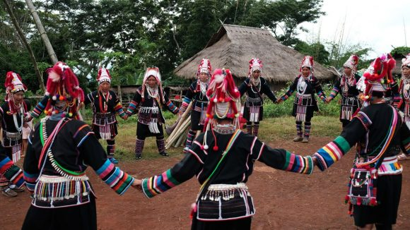 Akha tribe.