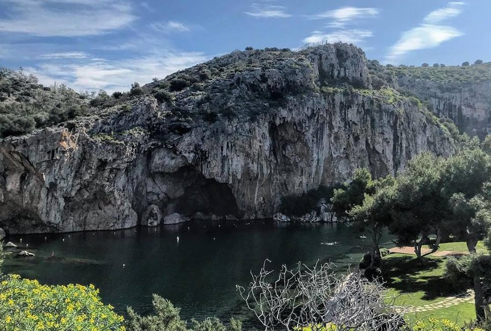 Photo Source: @Vouliagmeni Lake