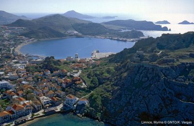 Limnos, Greece. Photo source: Visit Greece / K. Vergas