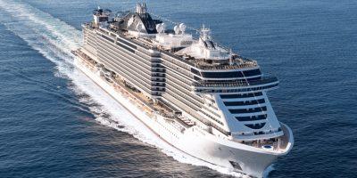 MSC Seaview. Photo Source: @MSC Cruises