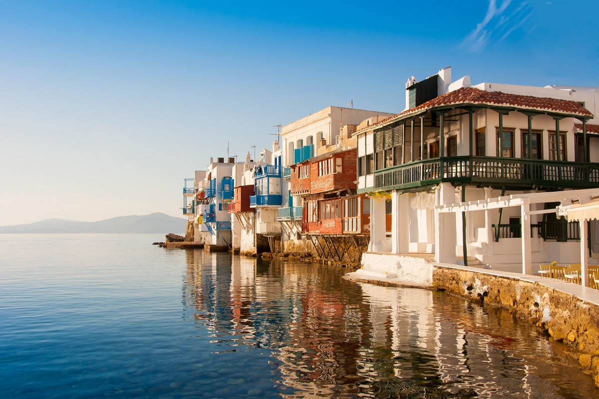 Mykonos, Greece. Photo Source: http://likenoother.aegeanislands.gr