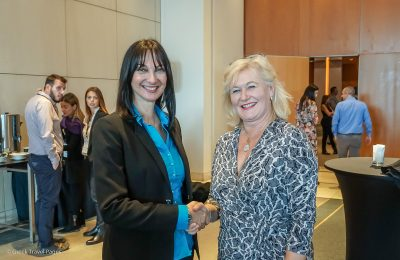 Greek Tourism Minister Elena Kountoura and Pacific Asia Travel Association (PATA) Regional Director Daniela Wagner. Photo © Greek Travel Pages (GTP)