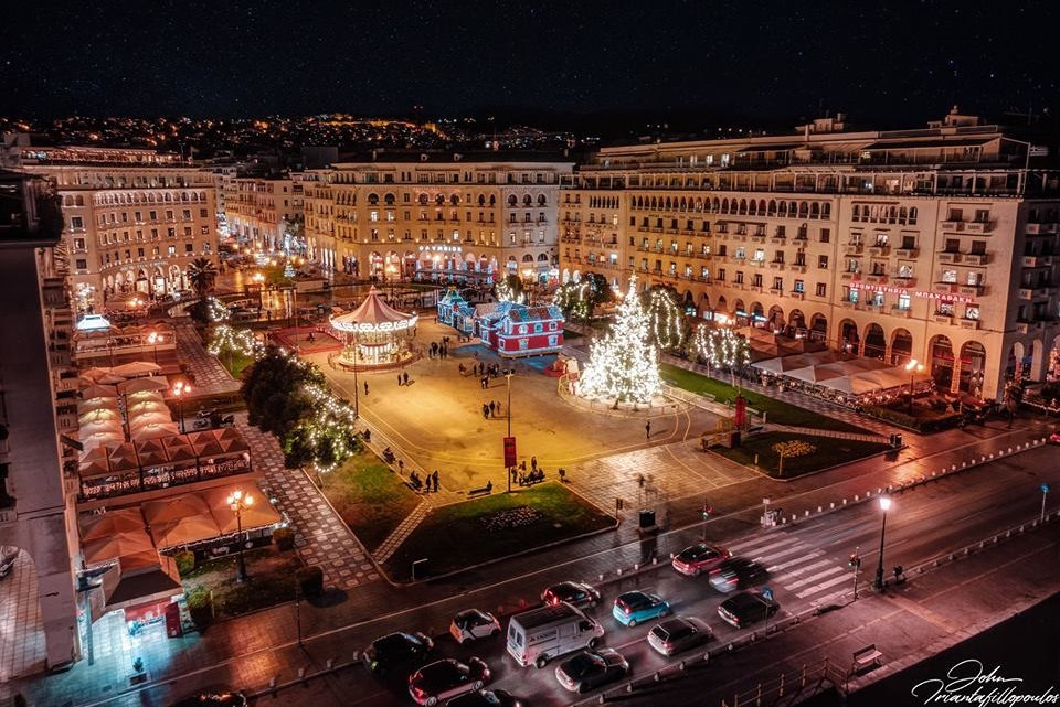 Thessaloniki, northern Greece. Photo Source: @Thessaloniki Travel / John Triantafilopoulos