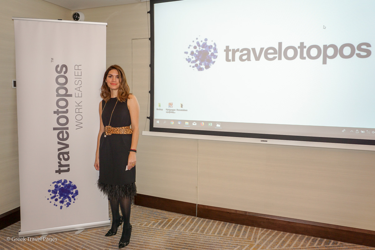 Maria Aivalioti, General Manager of Travelotopos