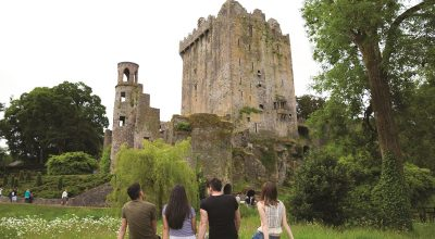 Castle ruins in Ireland - Intagible cultural heritage monument. Photo Source: https://europa.eu/cultural-heritage