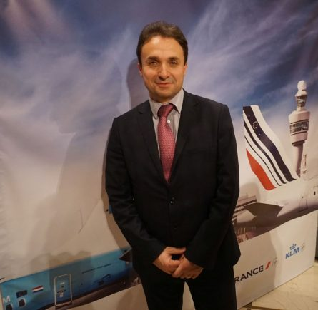 Jerome Salemi, General Manager Air France-KLM East Mediterranean Establishment.