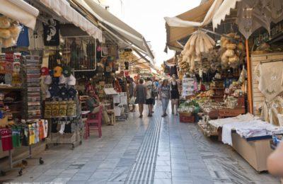 Meidani Street in Heraklion, Crete. Photo source: Visit Greece / Y. Skoulas