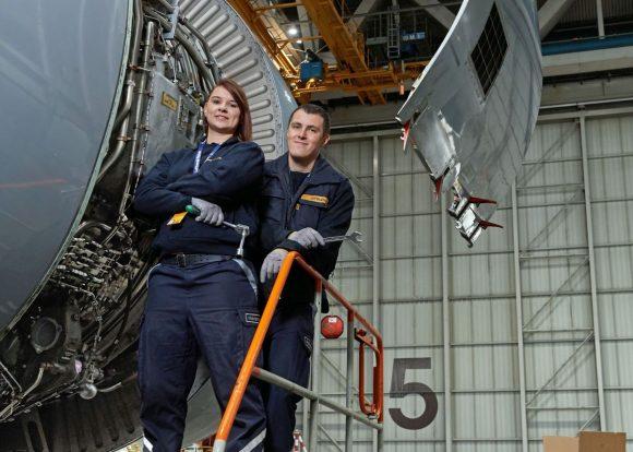 Lufthansa Technik.