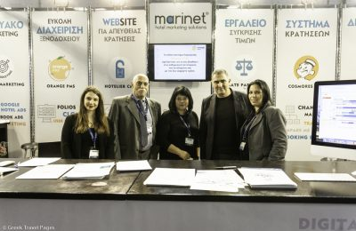 Marinet CEO & Founder Alexandros Damigos and his team will welcome visitors at HORECA 2019.