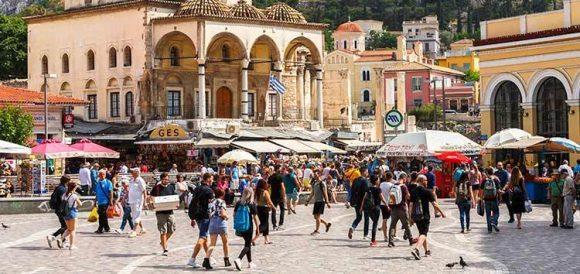 Monastiraki square, Athens. Photo Source: EBRD