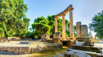 Archaeological site of Olympia. Photo Source: Visit Greece