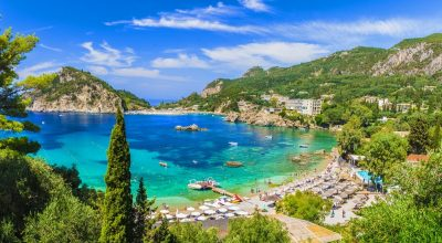 Paleokastritsa bay, Corfu island. Photo Source @Visit Greece