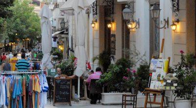 Plaka, Athens. Photo Source: Region of Attica