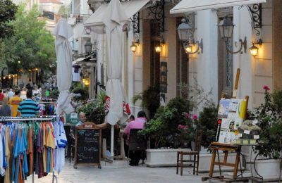 Plaka, Athens. Photo Source: Region of Attica