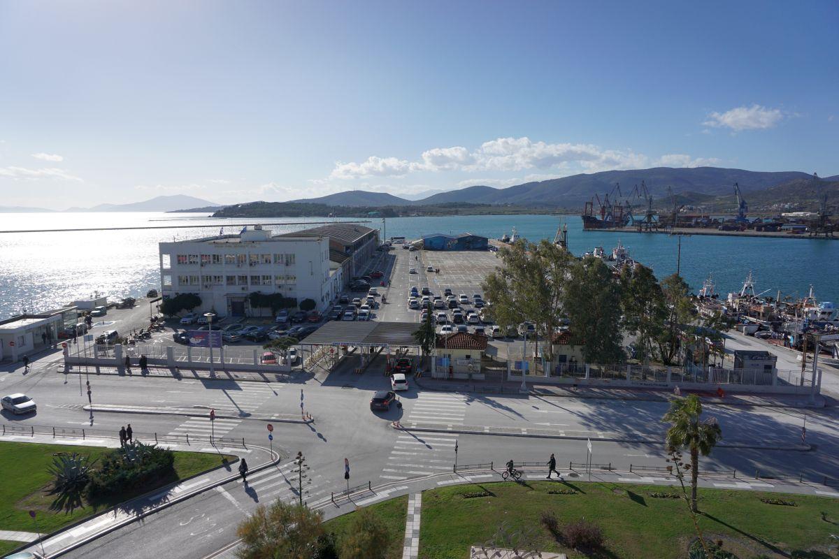 Volos Port. Photo © GTP
