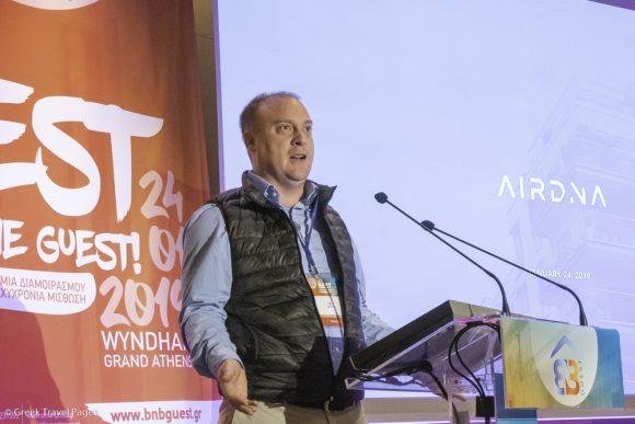 AirDNA Chief Revenue Officer Tom Caton.
