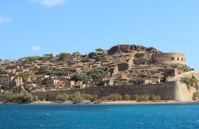 The islet of Spinalonga