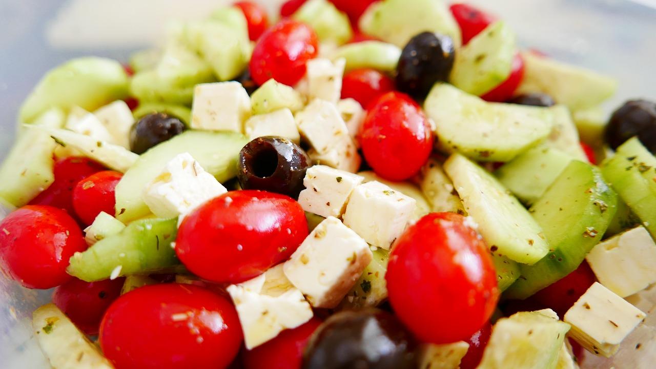 Greek Salad. Photo source: pixabay.com