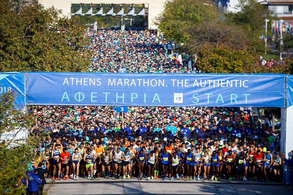 Photo Source: @Athens Marathon. The Authentic