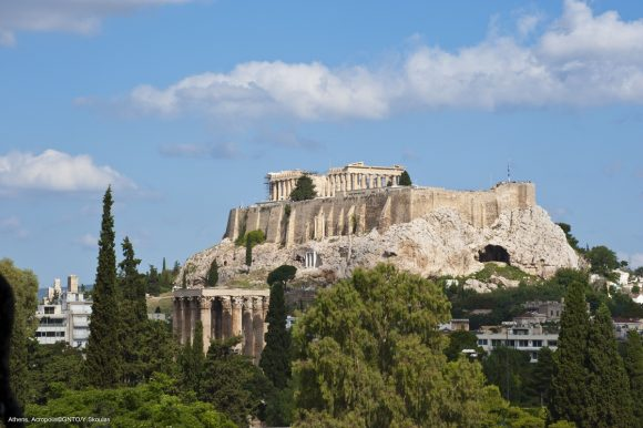Acropolis, Athens. Photo Source: Visit Greece/Y. Skoulas
