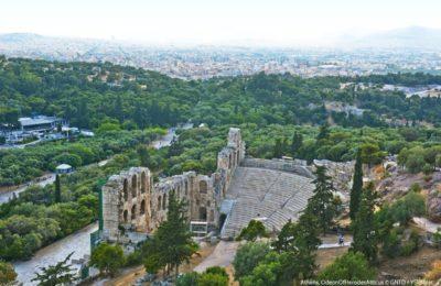 Odeon of Herod Atticus, Athens. Photo Source: Visit Greece / Y. Skoulas