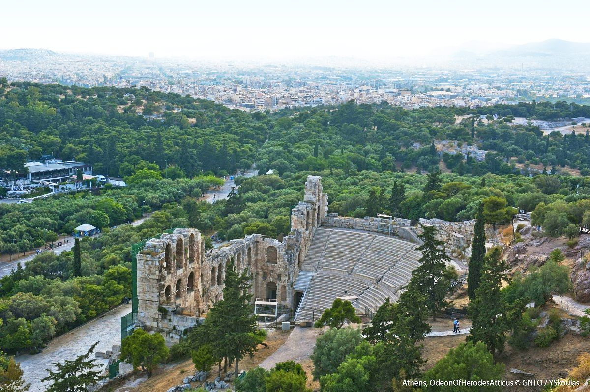 Odeon of Herod Atticus, Athens. Photo Source: Visit Greece / Y. Skoulas