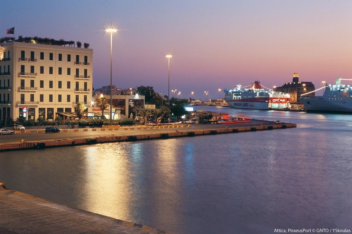 Piraeus Port. Photo Source: Visit Greece / Y. Skoulas