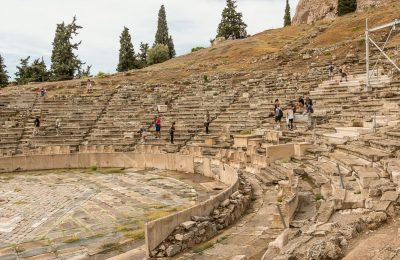 Theater of Dionysus in Athens. Photo Source: https://athensattica.com