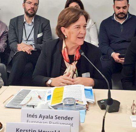 Inés Ayala Sender, European Parliament.