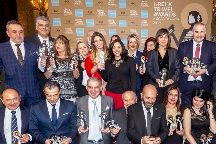 The winners of the Greek Travel Awards 2019