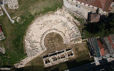 TheFirst Ancient Theater of Larissa. Photo Source: larissa-theatre.com