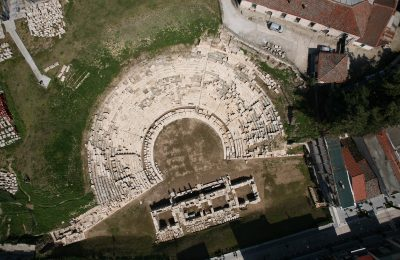 The First Ancient Theater of Larissa. Photo Source: larissa-theatre.com